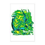 Mock Turtle & Gryphon Mini Poster Print