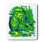 Mock Turtle & Gryphon Mousepad