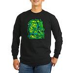Mock Turtle & Gryphon Long Sleeve Dark T-Shirt