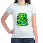 Mock Turtle & Gryphon Jr. Ringer T-Shirt
