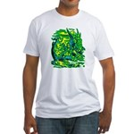 Mock Turtle & Gryphon Fitted T-Shirt