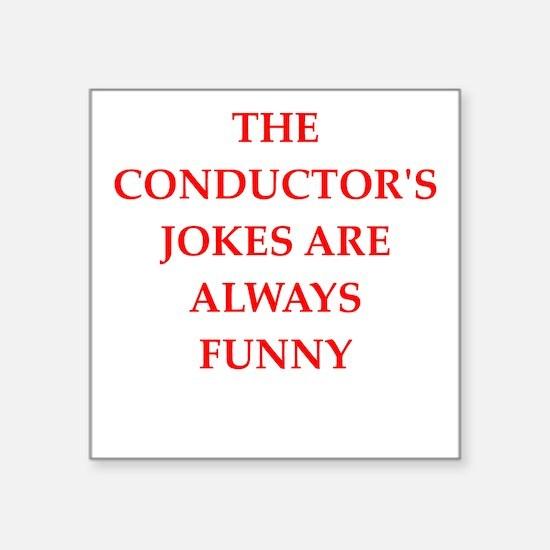 conductor Sticker
