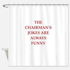 chairman Shower Curtain