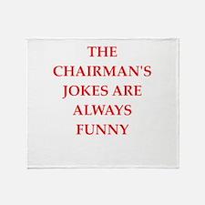 chairman Throw Blanket