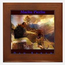 Machu Picchu Framed Tile