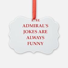 admiral Ornament