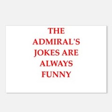 admiral Postcards (Package of 8)