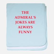 admiral baby blanket