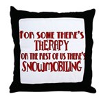 Some Have Therapy Throw Pillow