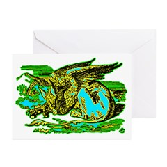 Gryphon Greeting Cards (Pk of 20)