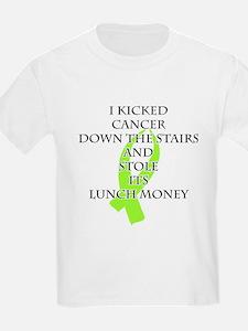 Cancer Bully (Lime Green Ribbon) T-Shirt