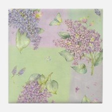 Lilacs Tile Coaster