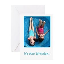 Dive Right In Birthday Card