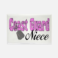 Coast Guard Niece Rectangle Magnet