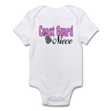 Coast Guard Niece Infant Bodysuit