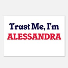 Trust Me, I'm Alessandra Postcards (Package of 8)