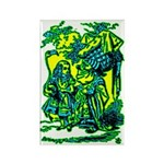 Duchess & Alice Rectangle Magnet (100 pack)