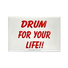 Drum for your life!! : Rectangle Magnet