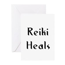 Reiki Heals Greeting Cards (Pk of 10)