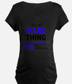 It's MARC thing, you wouldn't un Maternity T-Shirt