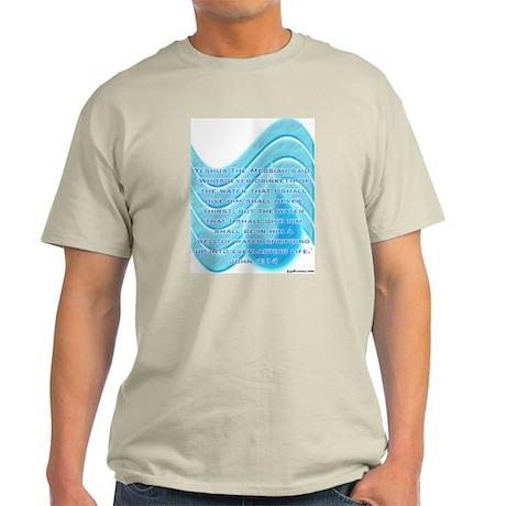 Living Waters Ash Grey T-Shirt