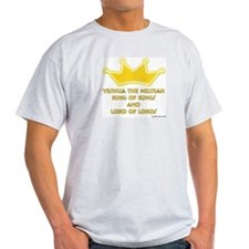 King Of Kings Ash Grey T-Shirt