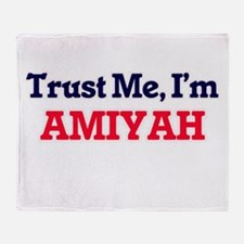 Trust Me, I'm Amiyah Throw Blanket