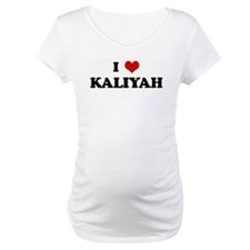 I Love KALIYAH Shirt