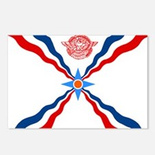 Assyrian Flag Postcards (Package of 8)