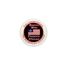 Free Lauren-2 Mini Button (100 pack)