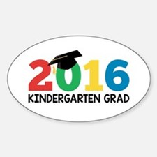 2016 Kindergarten Grad Decal