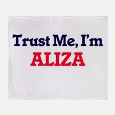 Trust Me, I'm Aliza Throw Blanket