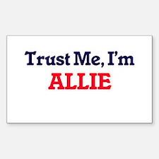 Trust Me, I'm Allie Decal