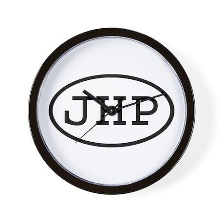 JHP Oval Wall Clock