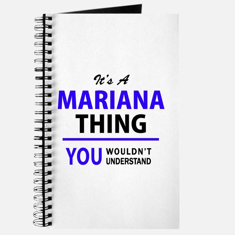 It's MARIANA thing, you wouldn't understan Journal
