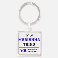 It's MARIANNA thing, you wouldn't unders Keychains