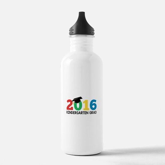 2016 Kindergarten Grad Sports Water Bottle