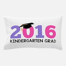 2016 Kindergarten Grad (Girls) Pillow Case