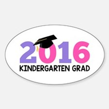 2016 Kindergarten Grad (Girls) Decal