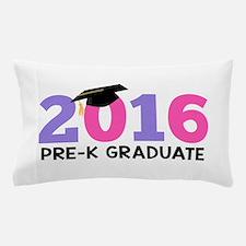 2016 Pre-K Graduate (Girls) Pillow Case