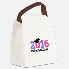 2016 Pre-K Graduate (Girls) Canvas Lunch Bag