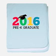 2016 Pre-K Graduate baby blanket