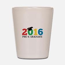2016 Pre-K Graduate Shot Glass