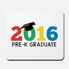 2016 Pre-K Graduate Mousepad