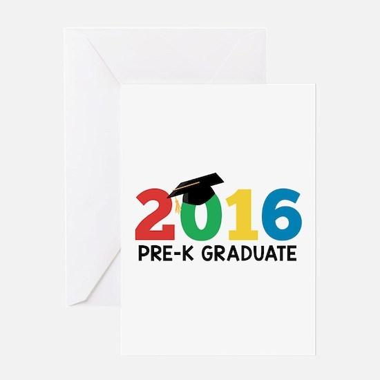 2016 Pre-K Graduate Greeting Cards