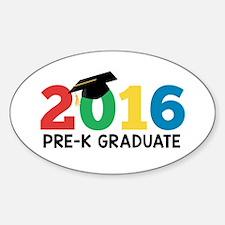 2016 Pre-K Graduate Decal