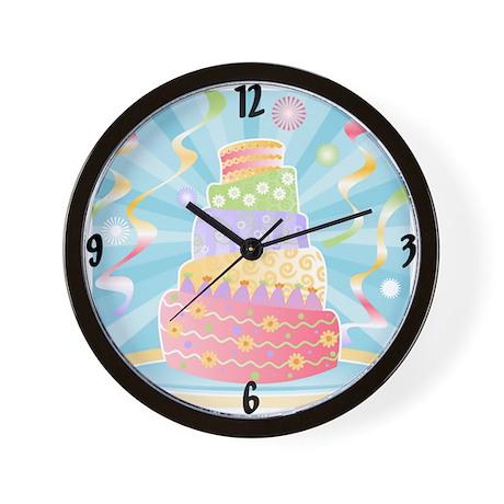 Celebration Cake Wall Clock