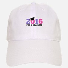 2016 Pre-K Graduate (Girls) Baseball Baseball Cap