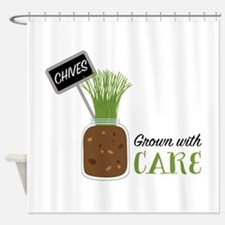 Grown With Care Shower Curtain