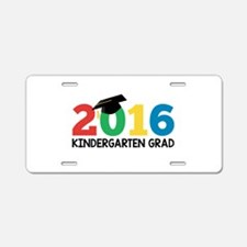 2016 Kindergarten Grad Aluminum License Plate